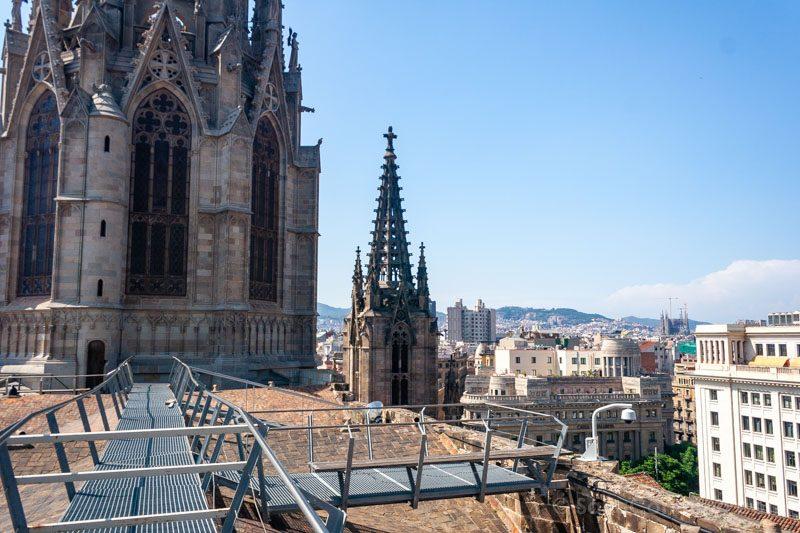 Tejado Catedral Barcelona