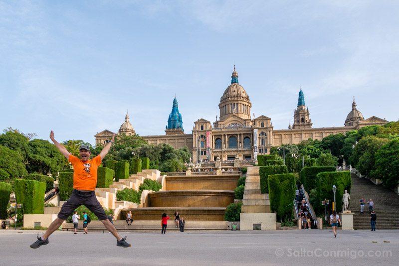 Miradores Barcelona MNAC Salto