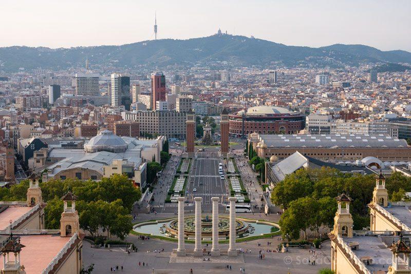 Miradores Barcelona MNAC Terraza