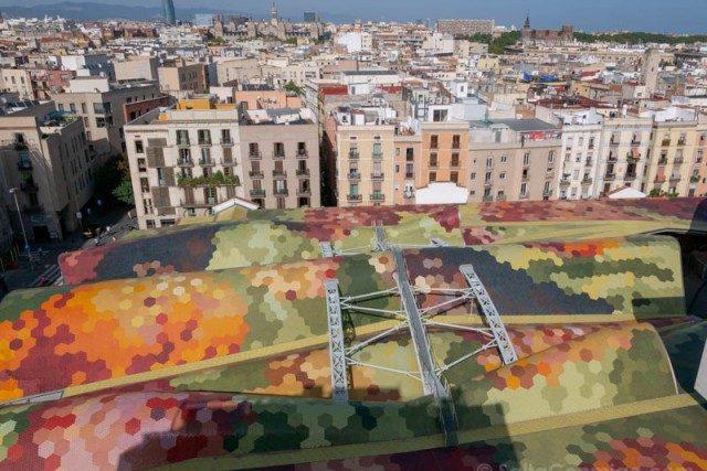 Miradores Barcelona Mercado Santa Caterina Hotel Barcelona Edition