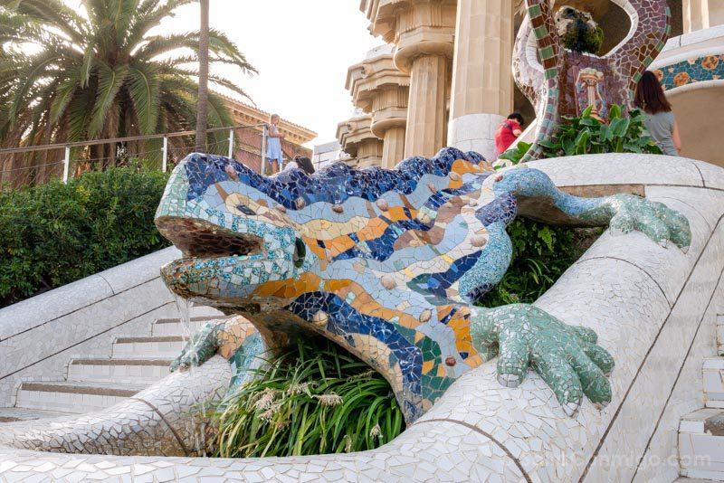 Park Guell Dragon Salamandra