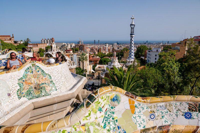 Miradores Barcelona Park Guell