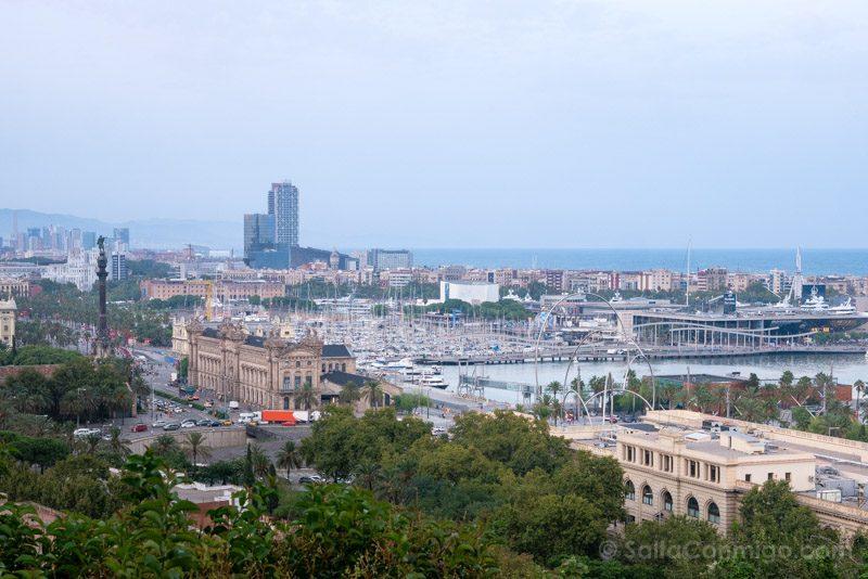 Miradores Barcelona Poble Sec Colon