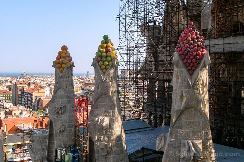 Miradores Barcelona Sagrada Familia