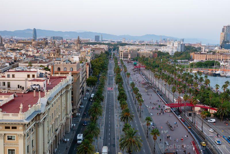 Miradores Barcelona Torre Colon Paseo