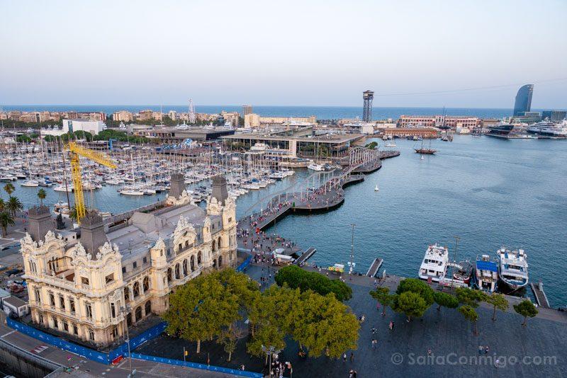 Miradores Barcelona Torre Colon Puerto