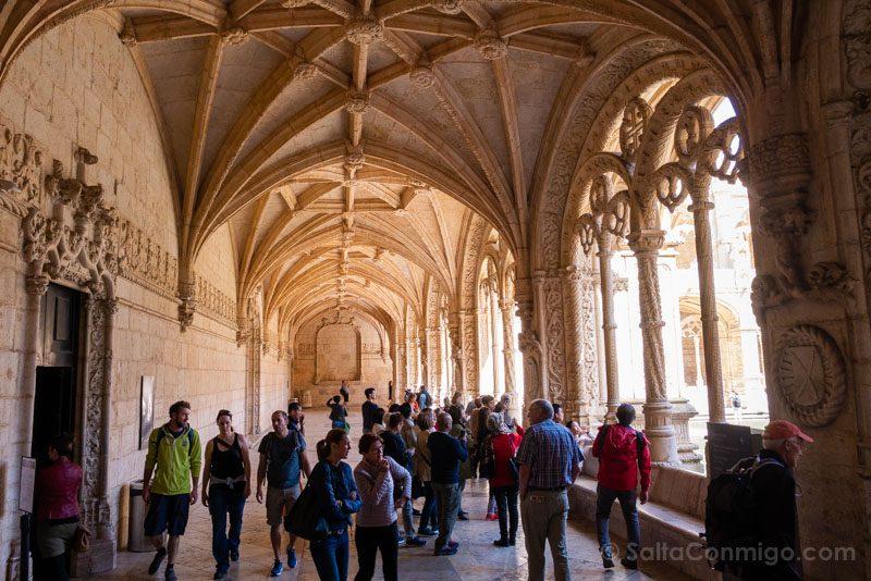 Monasterio Jeronimos Lisboa Belem Claustro Galeria