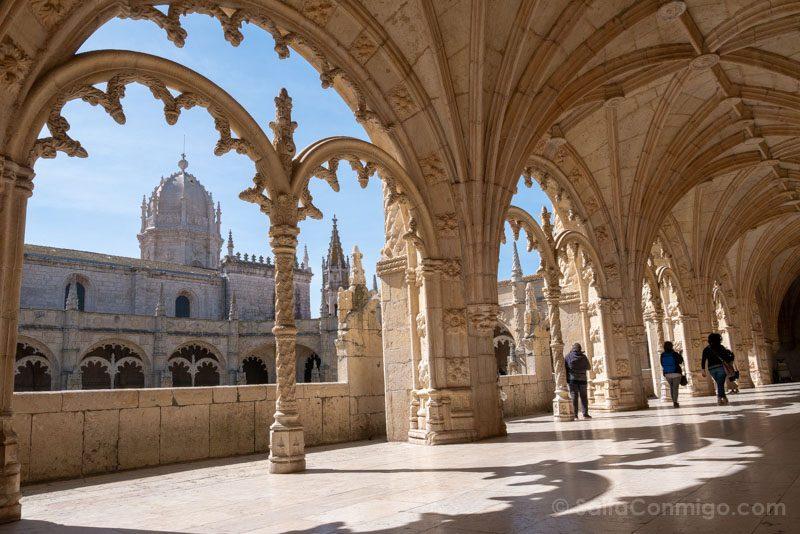 Monasterio Jeronimos Lisboa Belem Claustro Segundo Arco Cupula
