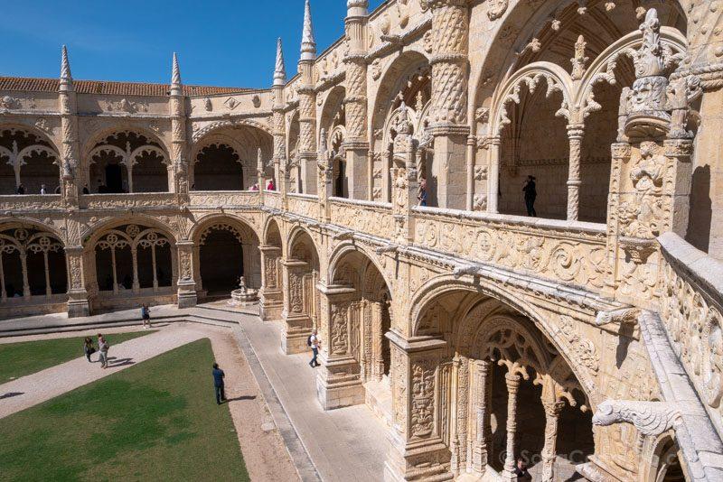 Monasterio Jeronimos Lisboa Belem Claustro Segundo Vista