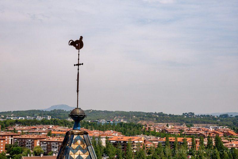 Monasterio Sant Cugat del Valles Campanario Gallo