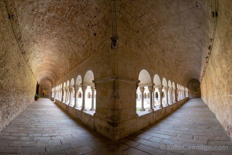 Monasterio Sant Cugat del Valles Claustro Ojo Pez
