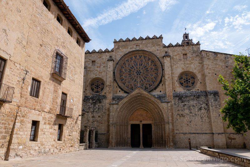 Monasterio Sant Cugat del Valles Fachada Iglesia