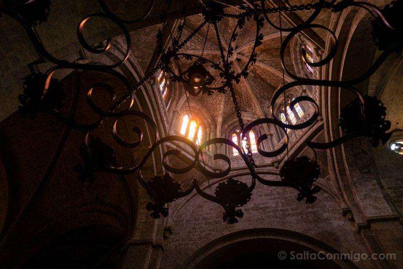 Monasterio Sant Cugat del Valles Interior Iglesia Cimborrio