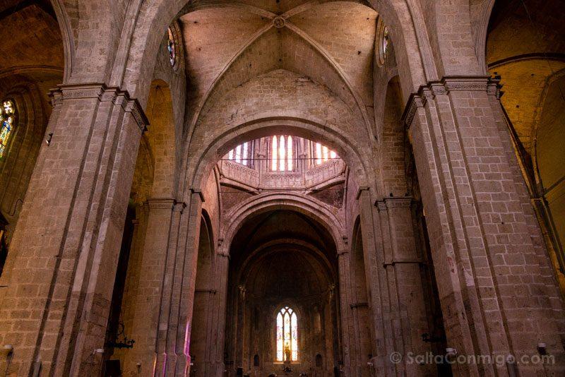 Monasterio Sant Cugat del Valles Interior Iglesia