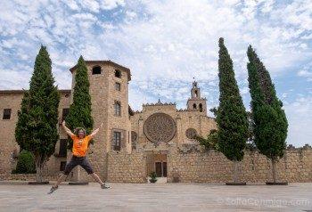 Monasterio Sant Cugat del Valles Salto