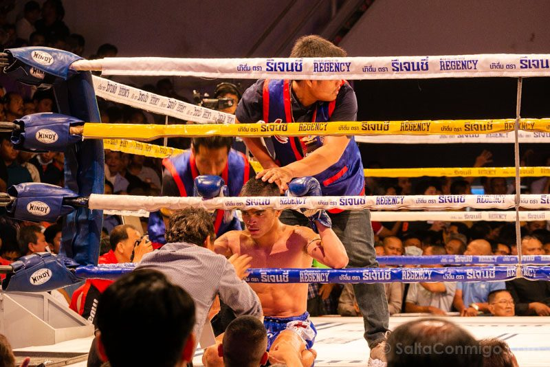 Muay Thai Bangkok Channel 7 Combate Descanso