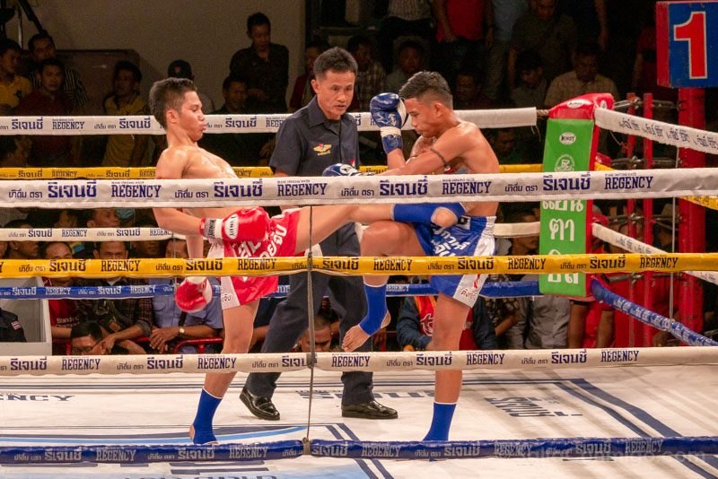 Muay Thai Bangkok Channel 7 Combate Patada Alta