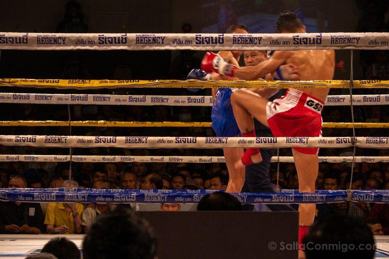 Muay Thai Bangkok Channel 7 Combate Rodilla