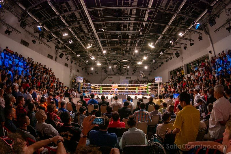 Muay Thai Bangkok Channel 7 Ring Combate