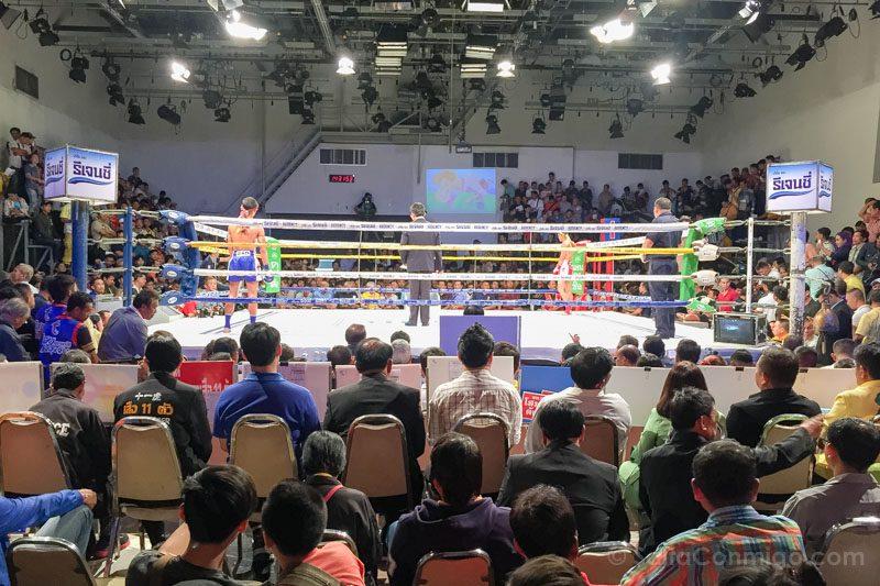 Ver un combate de Muay Thai en Bangkok Channel 7 Wai Kru