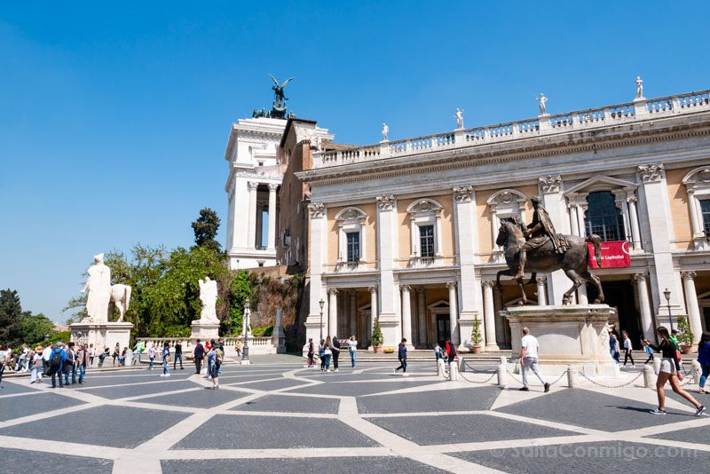 Plazas de Roma Piazza Campidoglio