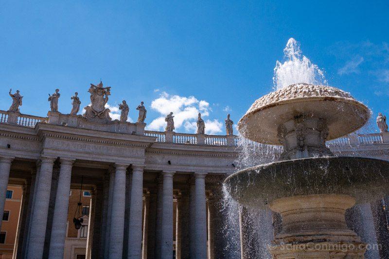 Plazas de Roma Piazza San Pietro Columnata