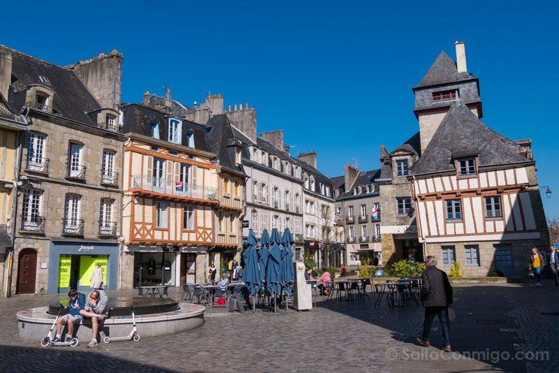 Turismo En Quimper Bretana Plaza Terre-au-Duc