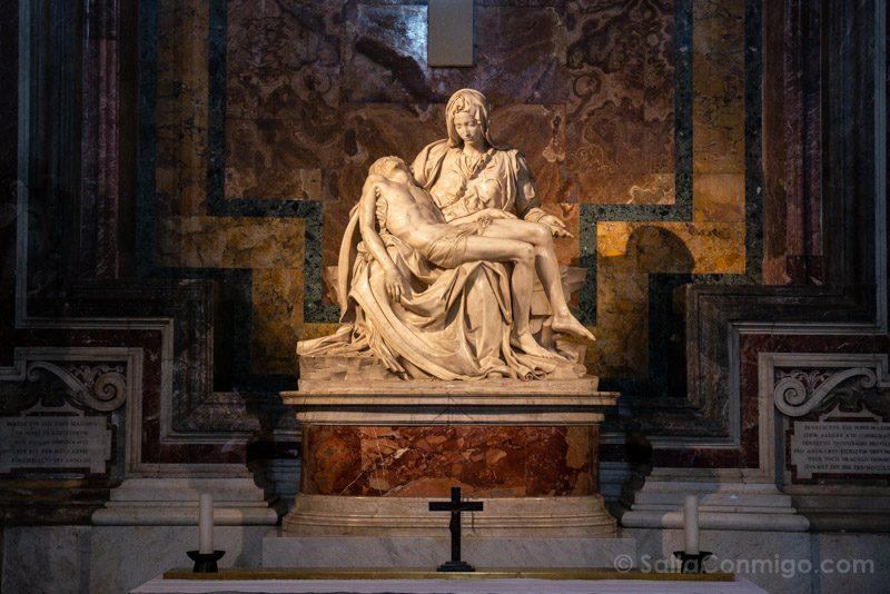 Roma Basilica San Pedro Piedad Miguel Angel