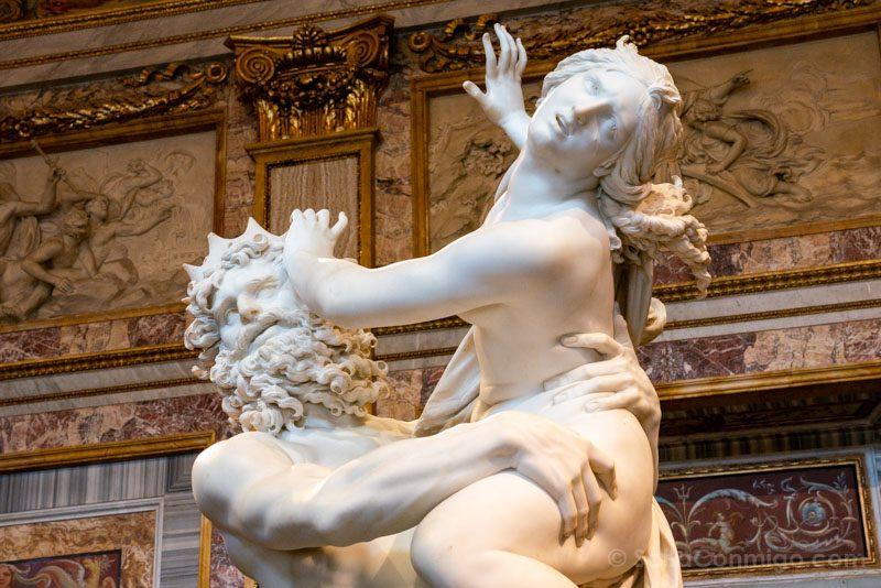 Roma Galleria Borghese Bernini Rapto Proserpina