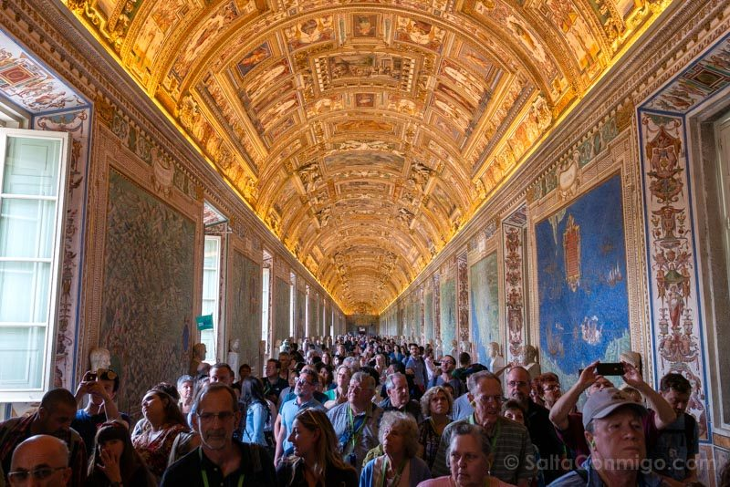 Roma Museos Vaticanos Galeria