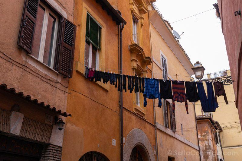 Roma Trastevere Calle