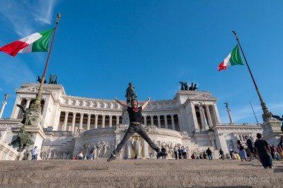 Roma Vittorio Emanuele Salto
