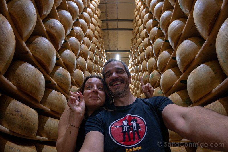 Caseificio Parmigiano Reggiano Selfie
