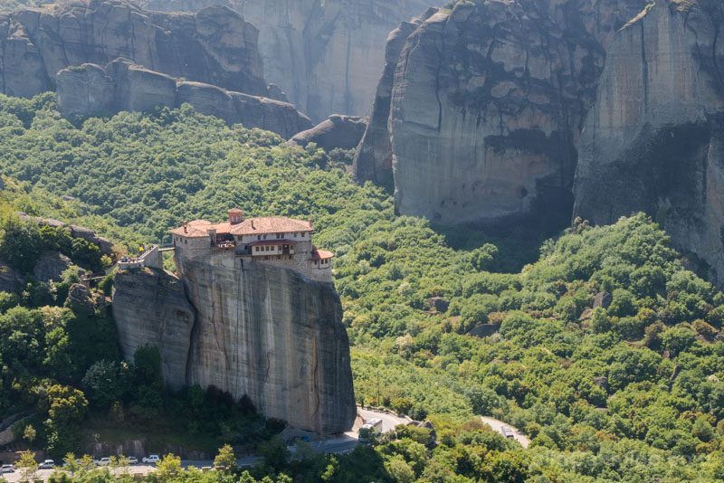 Meteora Grecia Monasterio Roussanou