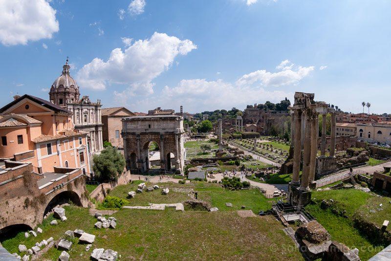 Miradores de Roma Belvedere Museos Capitolinos