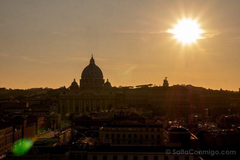 Miradores de Roma Castel Sant Angelo Atardecer