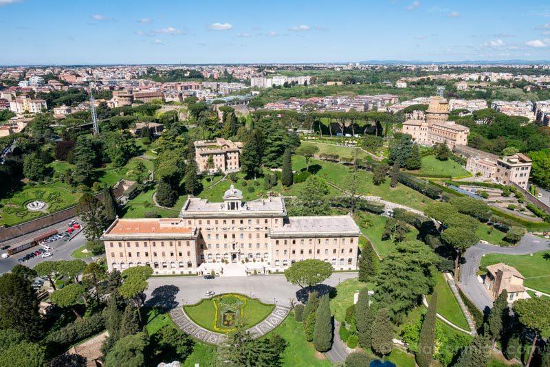 Miradores de Roma Cupula San Pedro Vaticano