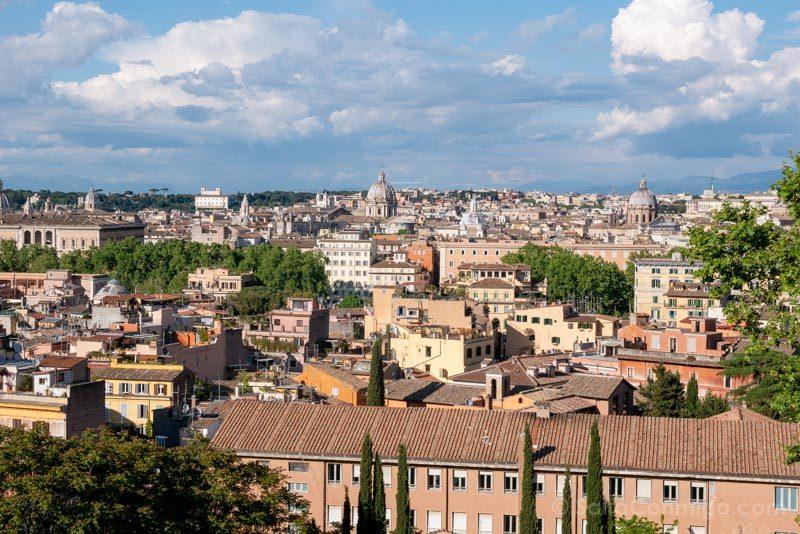 Miradores de Roma Gianicolo Terraza