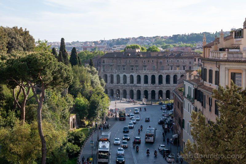 Miradores de Roma Vittoriano
