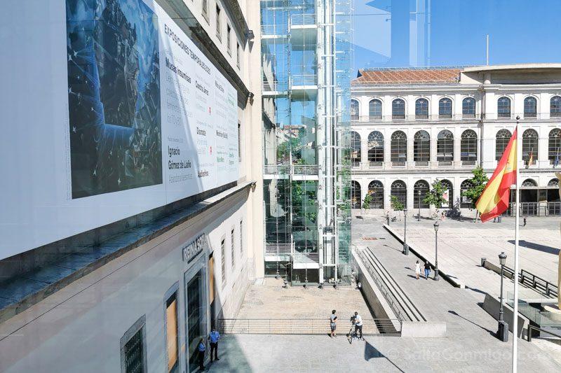 Museo Nacional Reina Sofia Fachada Sabatini