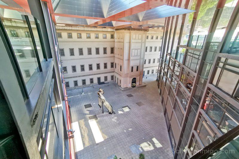 Museo Nacional Reina Sofia Patio
