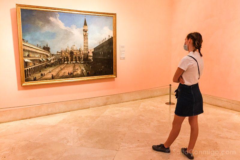 Museo Nacional Thyssen-Bornemisza Madrid Canaletto Venezia