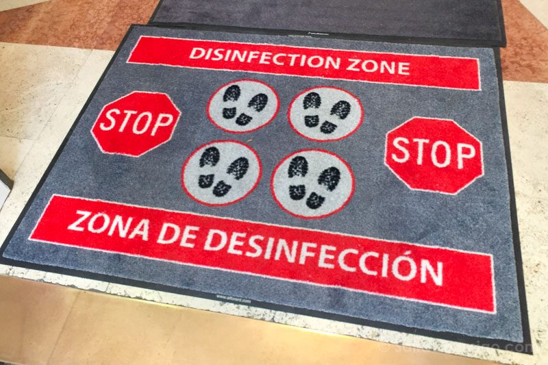 Museo Nacional Thyssen-Bornemisza Madrid Desinfeccion