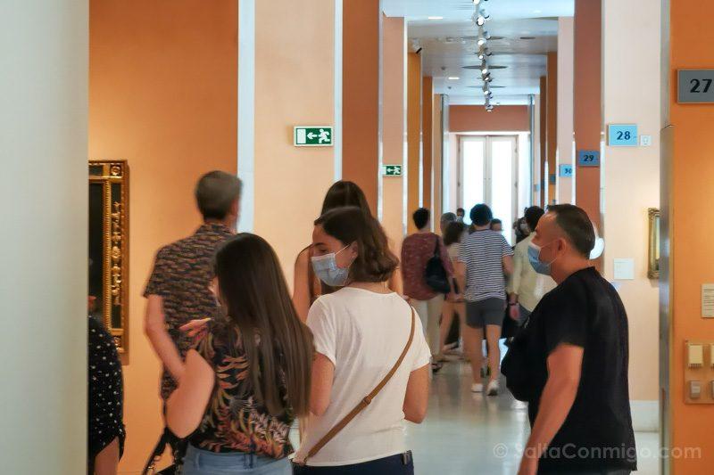 Museo Nacional Thyssen-Bornemisza Madrid Gente