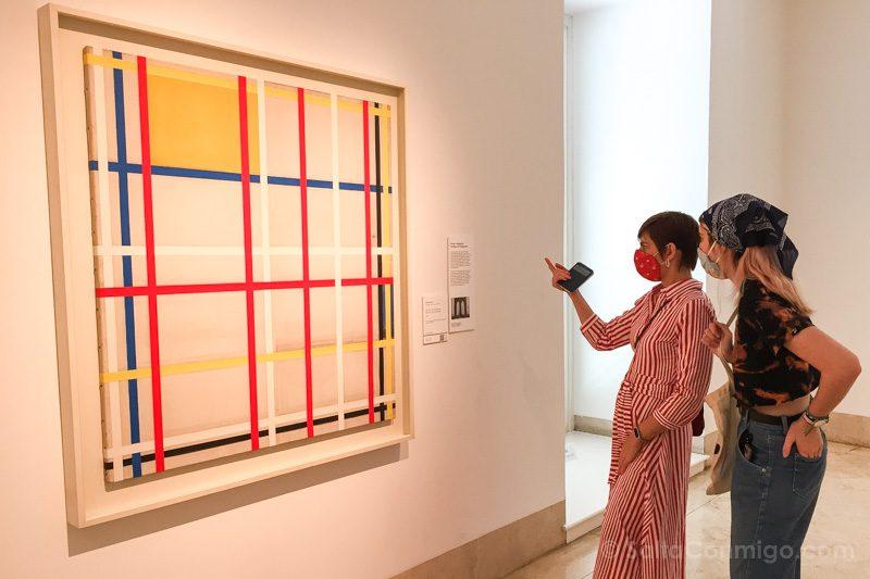 Museo Nacional Thyssen-Bornemisza Madrid Mondrian New York City