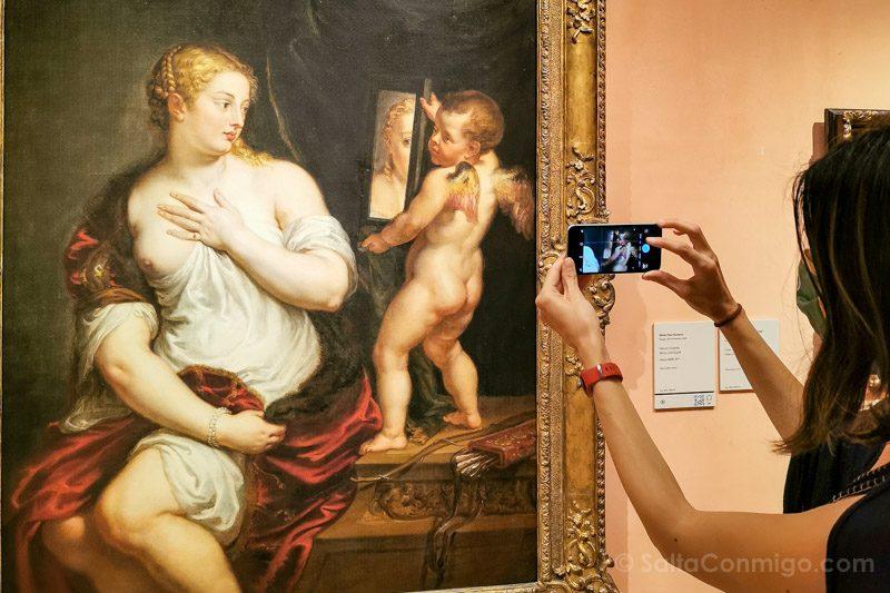 Museo Nacional Thyssen-Bornemisza Madrid Rubens Venus Cupido
