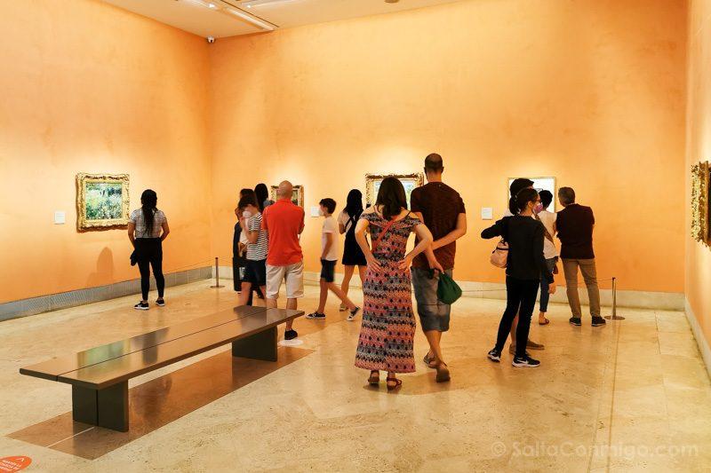 Museo Nacional Thyssen-Bornemisza Madrid Sala Gente