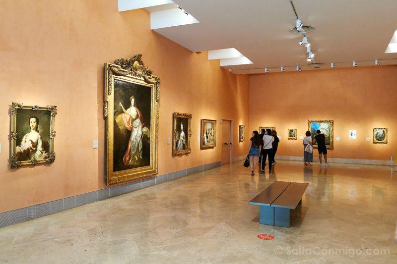 Museo Nacional Thyssen-Bornemisza Madrid Sala Vacia