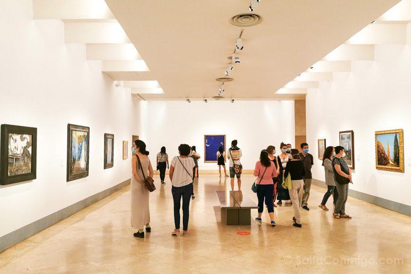Museo Nacional Thyssen-Bornemisza Madrid Sala