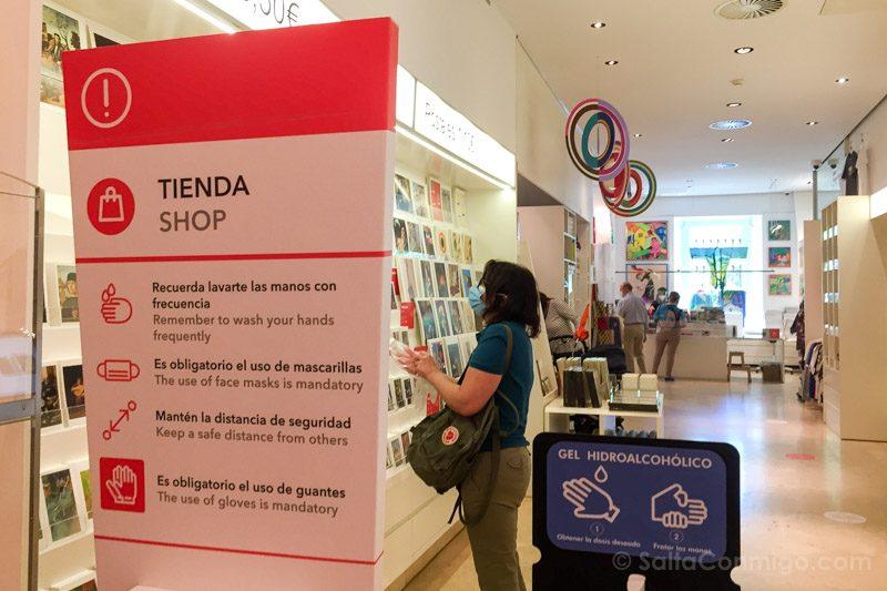 Museo Nacional Thyssen-Bornemisza Madrid Tienda